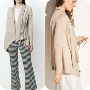 Vince Drape Front Wool And Cashmere Cardig…